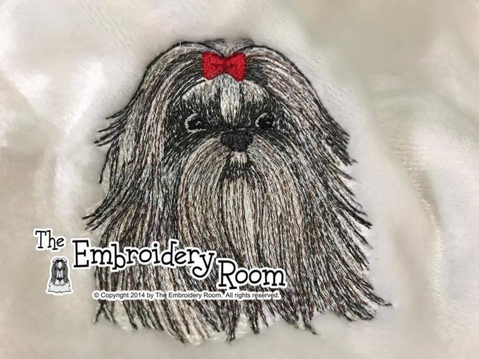 Shih Tzu Dog Blanket