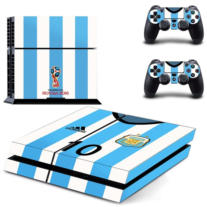 2018 FIFA World Cup AFA ps4 skin decal for console and 2 controllers