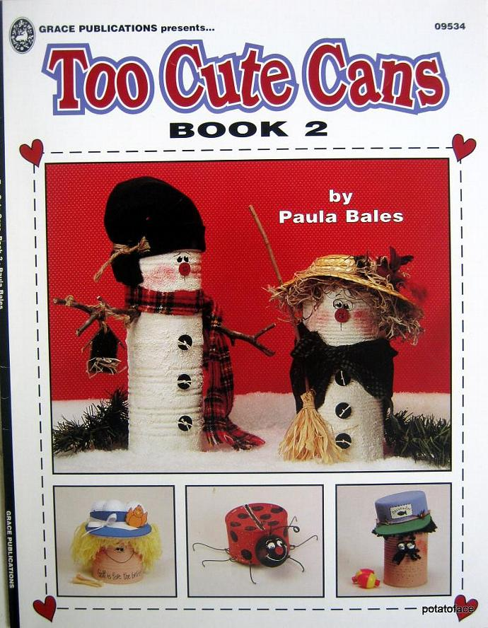 Too Cute Cans  Book 2 Pattern Painting Book