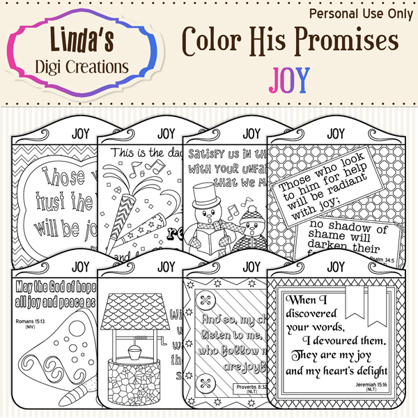 Color His Promises -- Joy