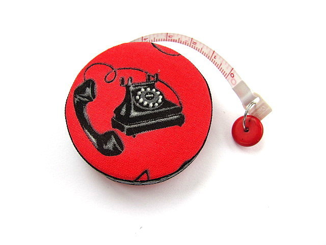 Measuring Tape Antique Telephones Retractable Tape Measure