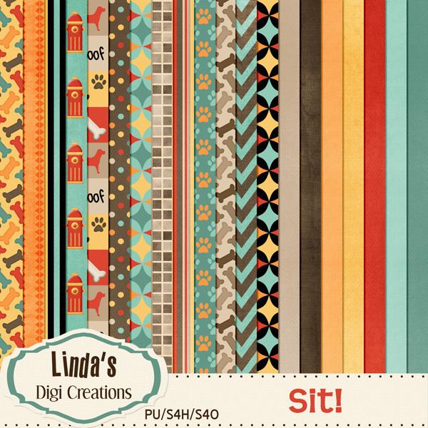 Sit! (Digi Scrap Kit)