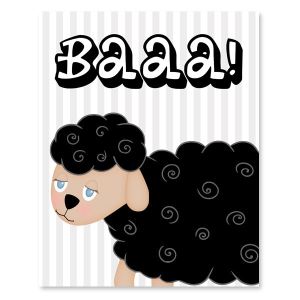 Black Sheep Printable Wall Art