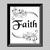 Faith (B&W) Printable Wall Art