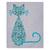 Cats - Paisley Set - Printable Wall Art