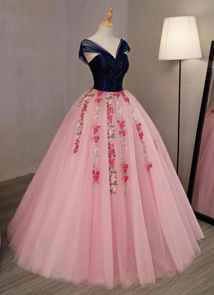 Strapless Long Sleeves Evening Dress,Off The Shoulder Prom Gown