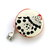 Measuring Tape with Dotted Chickens Retractable  Pocket Tape Measure