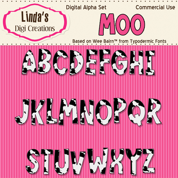 Moo Digital Alpha Set