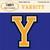 Varsity Digital Alpha Set_Yellow