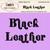 Black Leather Alpha Set
