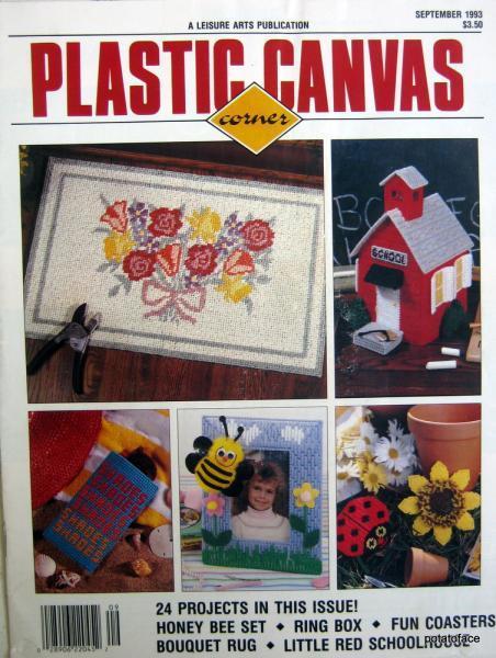 Plastic Canvas Corner Magazine September 1993