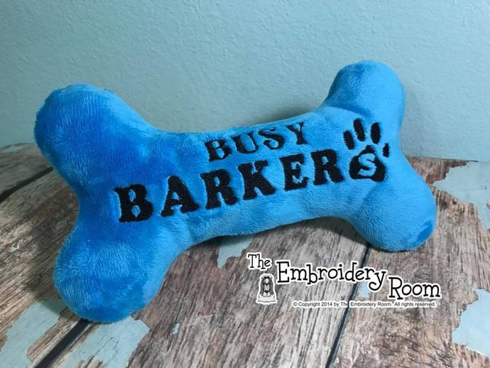 Personalized Squeaky Toy For SPOILED Dogs - Paw Print