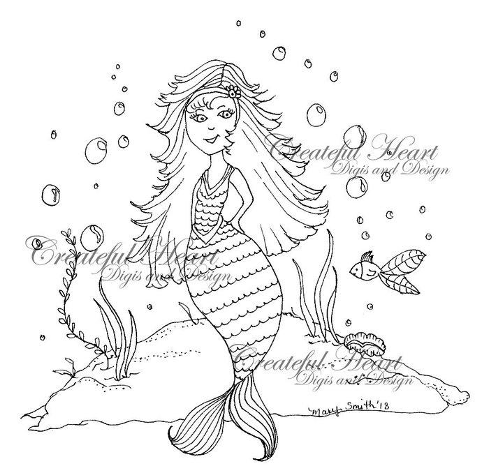Mermaids , set of 2