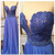 Plunging V Sweetheart Lace Appliques A-line Floor-Length Prom Dress, Evening