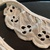 Vintage ivory eyelet 1.5 inches wide by the yard