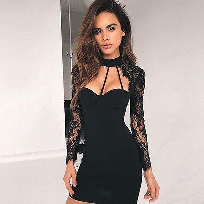 Black Mini Cocktail Dresses