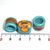 Dread Lock Beads, Hair Jewelry, Lampwork Hair Beads