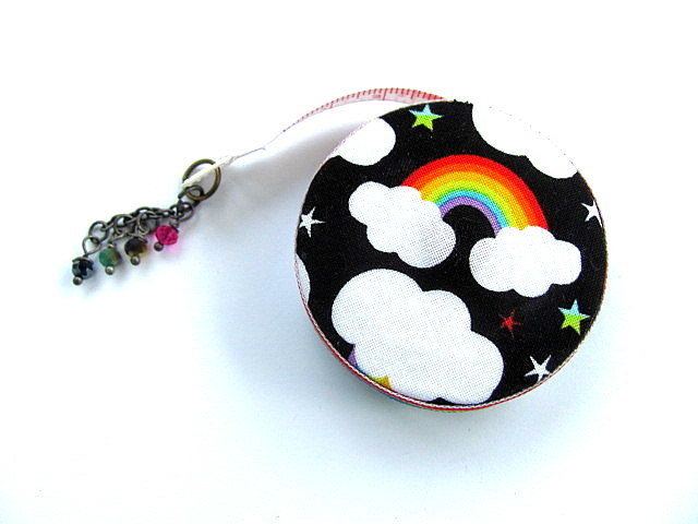 Retractable Tape Measure Rainbows Pocket Measuring Tape