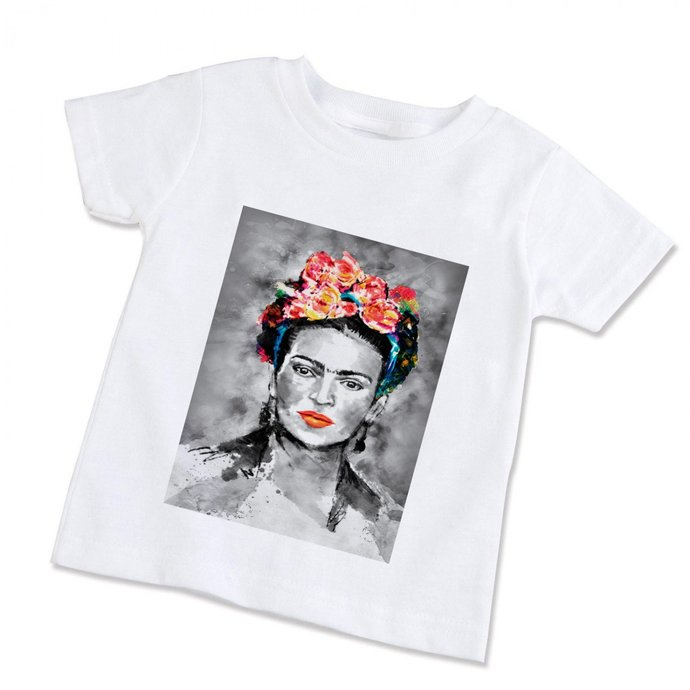 160b9cb5 Frida Kahlo Unisex Children T-Shirt (Available by PrintAndRun on