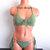 Crochet Bikini Set, Brazilian Cheeky Crochet Bikini in Sage by Vikni Designs