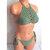Double Tie High Neck Crochet Bikini Set, Simply Cheeky Crochet Bikini by Vikni