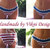 Crochet American Flag Cheeky Bikini Bottom by Vikni Designs