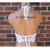 Crochet Top, Boho Hippie Lace Halter Crop Top by Vikni Designs
