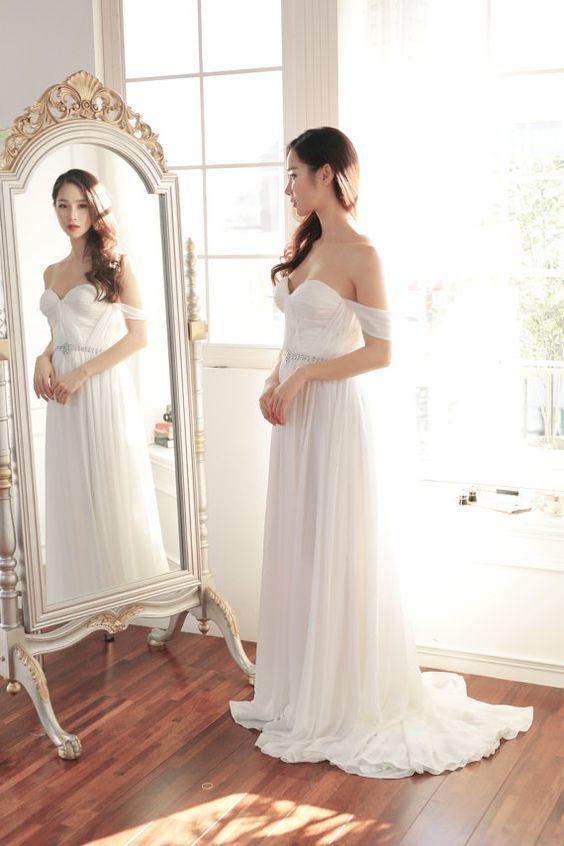 Discount Wedding Dresses,Cheap Beach by Miss Zhu Bridal on Zibbet