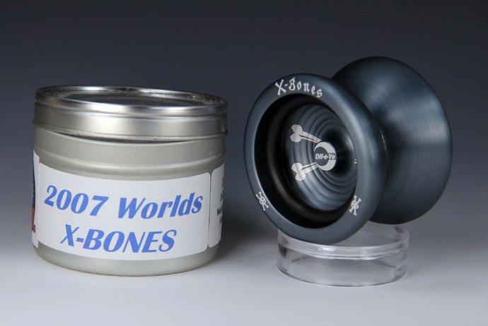 2007 Worlds Dif-e-Yo X-Bones Special Edition YoYo, New - Mint Condition