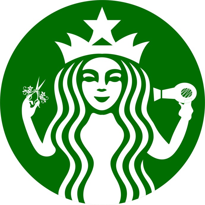 Starbucks Hairdresser Hair Stylist By Creative Creations
