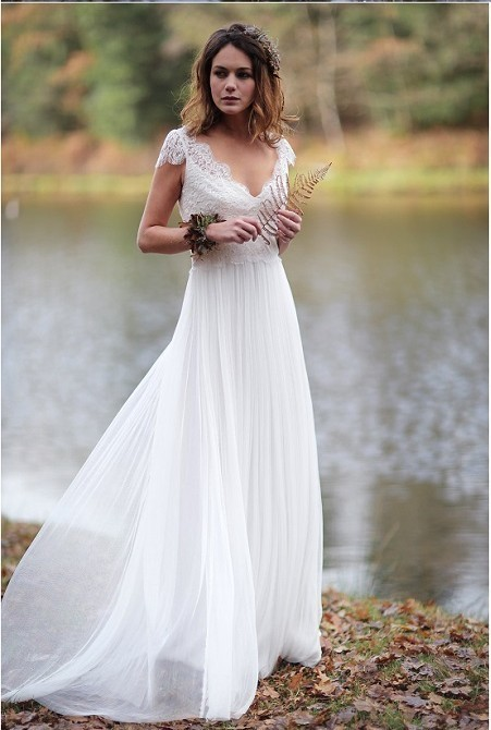 d4b0fd5305f Ivory Beach Wedding Dresses