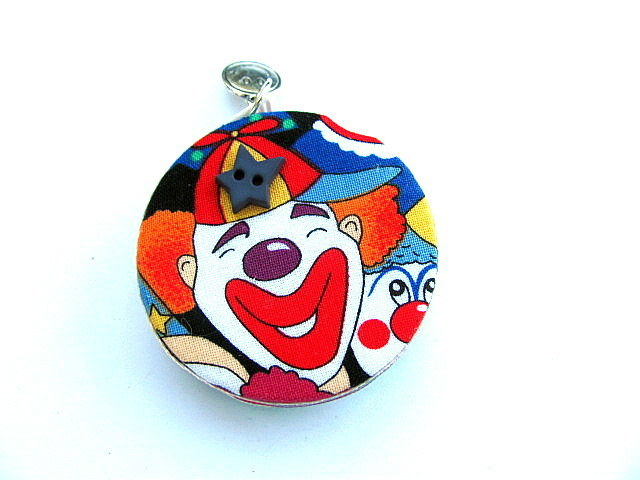 Tape Measure Rainbow Clowns Retractable Measuring Tape