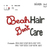 Beach Hair saying embroidery design, sayings embroidery, embroidery pattern N