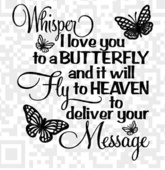whisper i love you to a butterfly by creative digital designs on