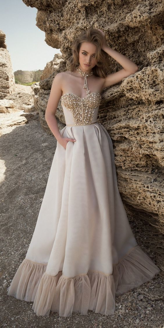 A Line Princess Prom Dress With Beading,Formal Women Dress ,Party Gown,Evening
