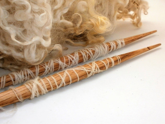 Wooden Spindle Stick