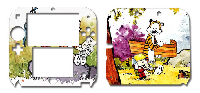 Calvin and Hobbes Nintendo 2DS Vinyl Skin Decal Sticker