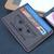 Alien Weyland Yutani Corp PU Leather Card Holder Magnetic Money Clip