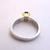Women's Vintage Estate 18K Gold & Platinum Sapphire Ring w/ Diamonds 11.8g E2784