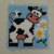 Farmhouse Art, Baby Room Decor, Baby Gift, Baby Shower Gift, Baby Cow Decor,