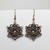 Chainmaille earrings, earrings, Celtic star, Celtic star earrings, celtic