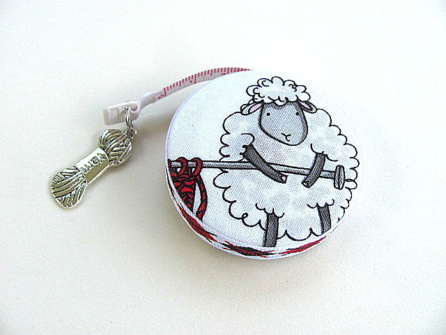 Tape Measure Knitting Sheep Retractable Measuring Tape