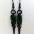 spike earrings, spiked earrings, spike jewelry, chainmaille earrings