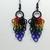 rainbow earrings, rainbow jewelry, chainmaille earrings, chainmail jewelry