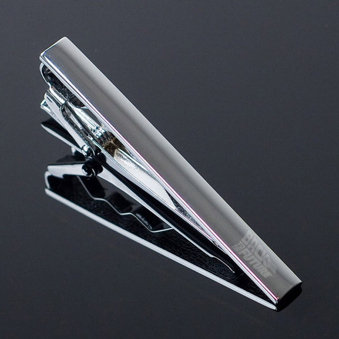 Back to the Future Metal Tie Clip Clasp Bar