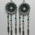 Dreamcatcher jewelry, dreamcatcher earrings, chainmaille earrings, chainmail