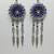 dreamcatcher jewelry, chainmaille earrings, long earrings