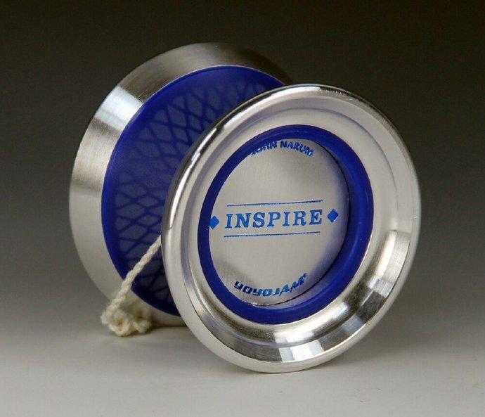 Rare YoYoJam Inspire (John Narum) Yo-Yo:  Blue Diamond Body, Mint Condition