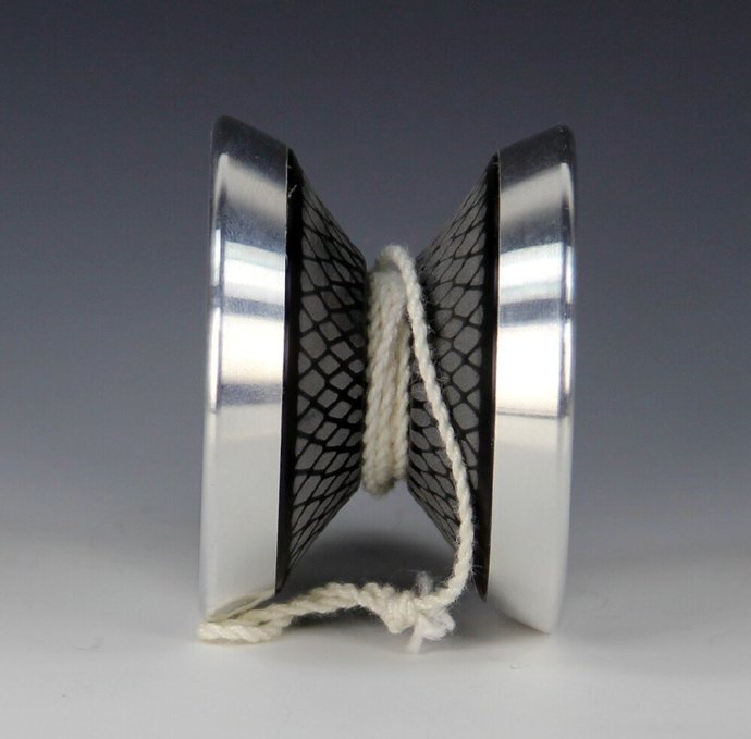 Very Rare YoYoJam Inspire (John Narum) Yo-Yo:  Black Diamond Body, Mint