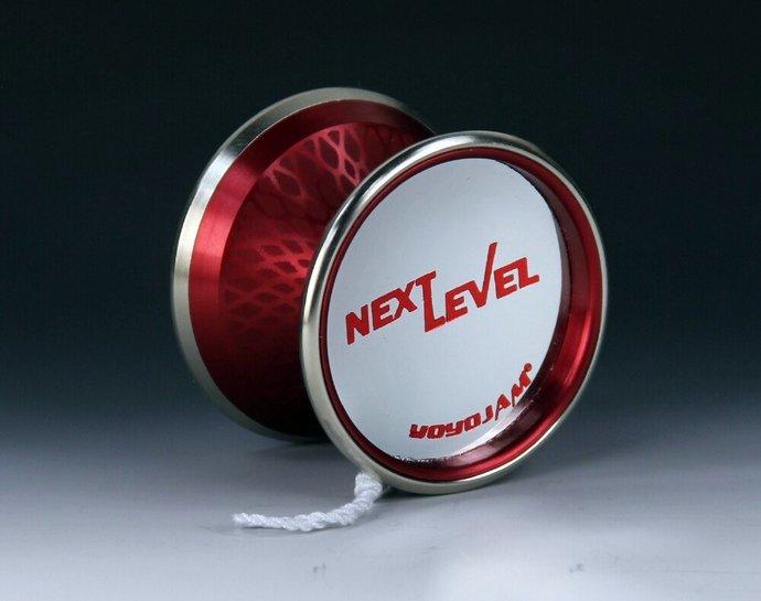 Very Rare YoYoJam Next Level Yo-Yo, Red Diamond Body, New - Mint Condition